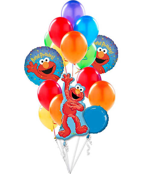 Sesame Street Elmo Party Balloon Package