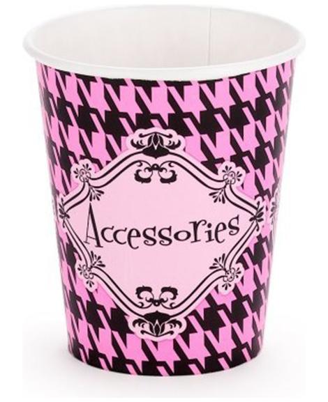 Fashionista Fashion 9 oz Paper Cups