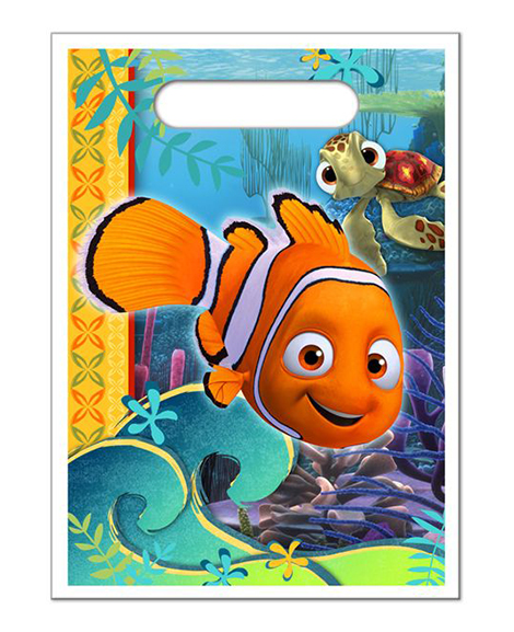 Finding Nemo Coral Reef Party Favor Treat Bags