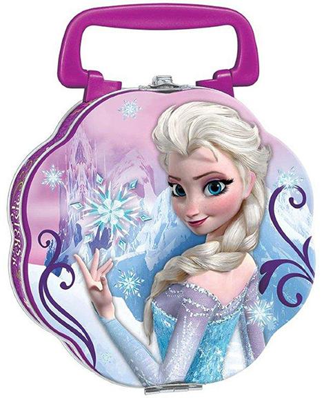 Disney Frozen Flower Style Lunch Tin