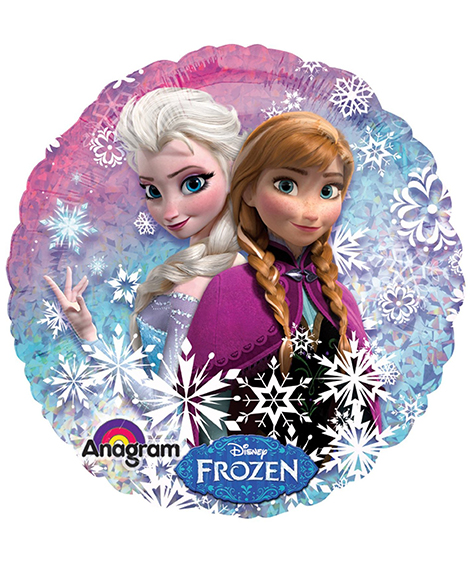 Disney Frozen Holographic Foil Mylar Balloon