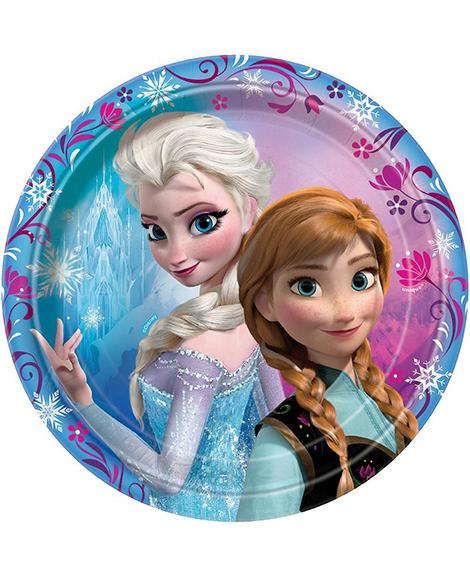 Disney Frozen Unique Dessert Plates