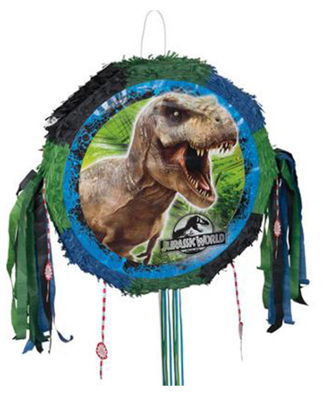 Jurassic World Pop Out Pull String Party Piñata