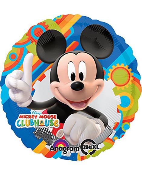 Mickey Playtime 18 Inch Round Foil Mylar Balloon