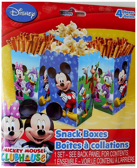Mickey Clubhouse Snack Boxes