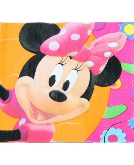 Minnie Mouse Clubhouse Lunch Napkins