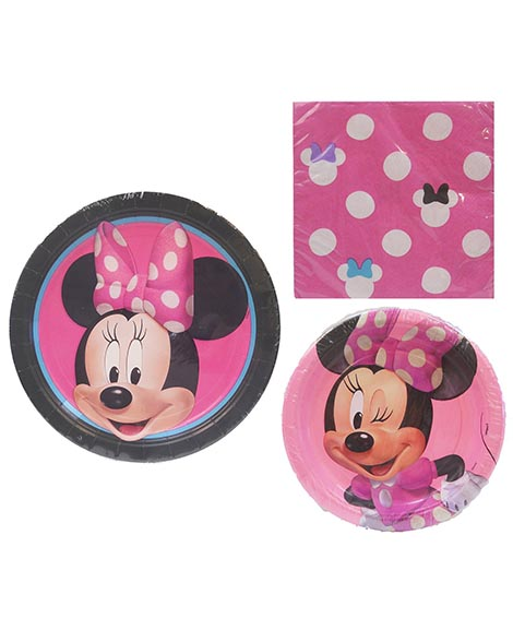 Minnie Mouse Party Package for 8 Guests