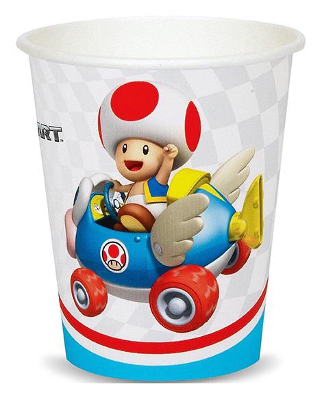 Super Mario Kart Wii 9 oz Paper Cups