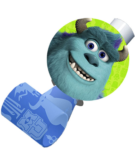 Monsters University Party Favor Blowouts 8 Ct