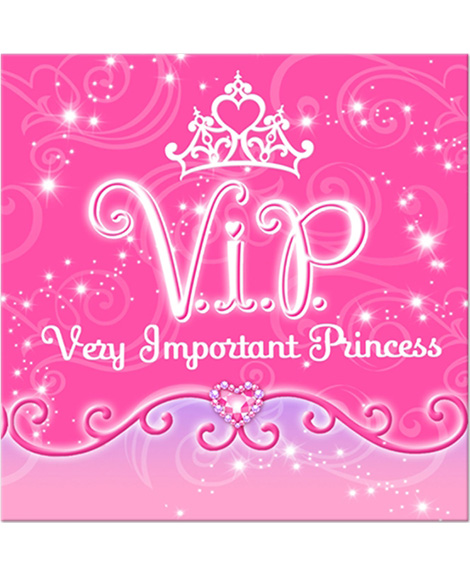 Disney VIP Princess Beverage Napkins