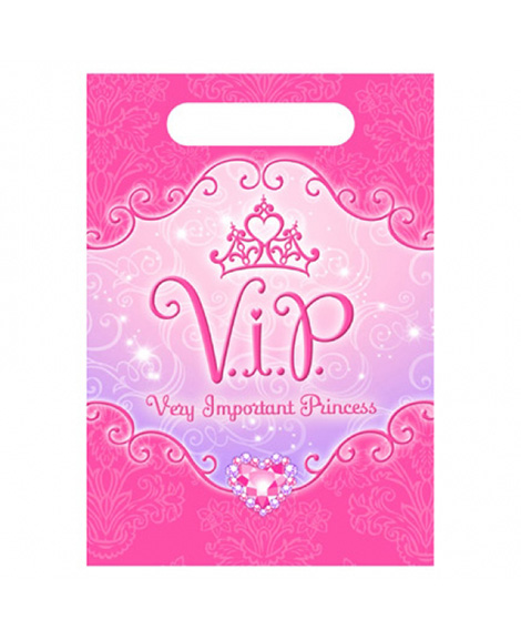Disney VIP Princess Party Favor Treat Bags