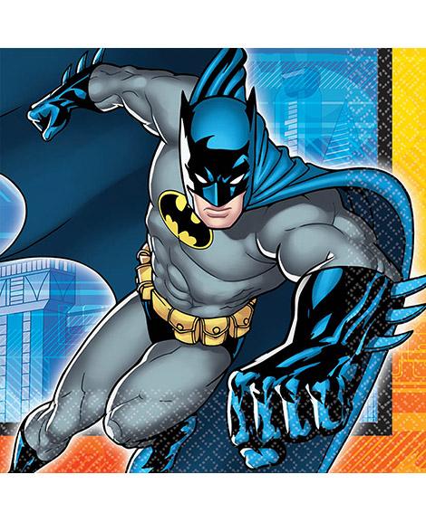 DC Batman Party Lunch Napkins