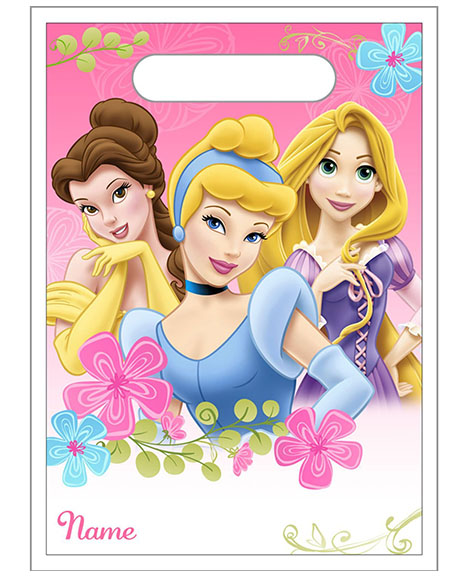 Disney Fanciful Princess Party Favor Treat Bags
