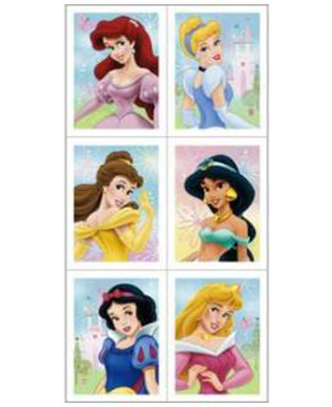 Disney Fairytale Friends Party Favor Stickers
