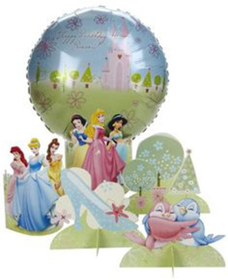 Disney Fairytale Friends Air-Filled Centerpiece