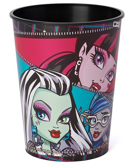 Monster High Zipper Keepsake Favor Cup
