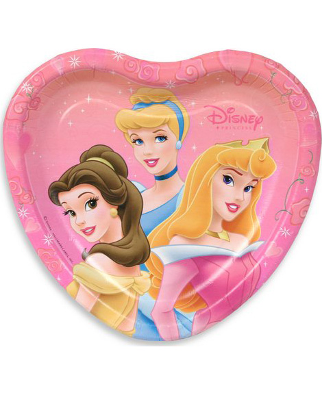 Disney Princess Ball Dessert Plates