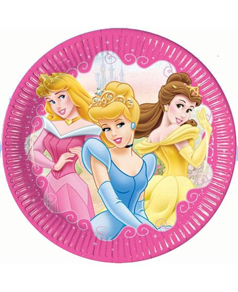 Disney Princess Jewel Lunch Plates