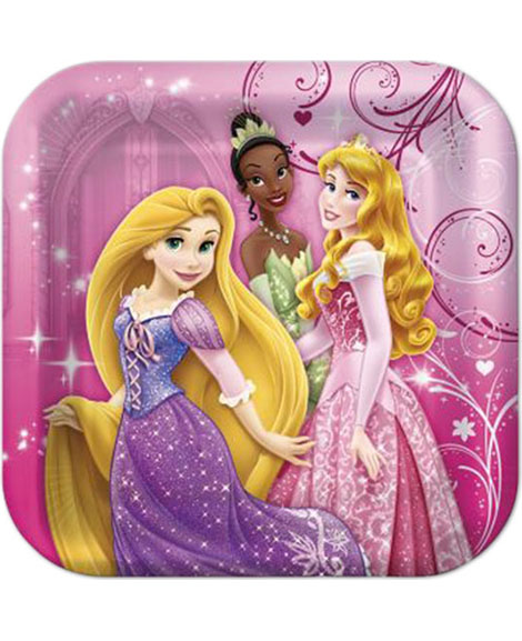 Disney Princess Sparkle and Shine Dessert Plates