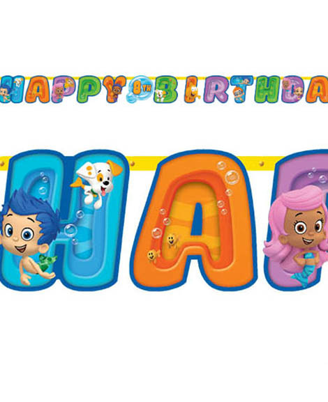 Bubble Guppies Jumbo Add An Age Banner