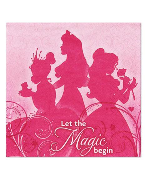 Disney Princess Sparkle and Shine Beverage Napkins