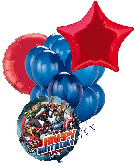 Avengers Assemble Marvel Balloon Package