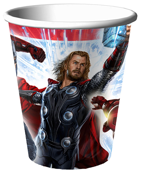 The Avengers 9 oz Paper Cups