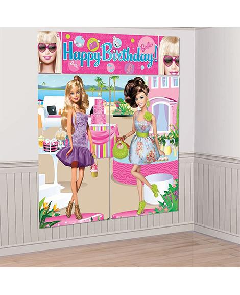 Barbie All Dolled Up Scene Setter Decorating Kit