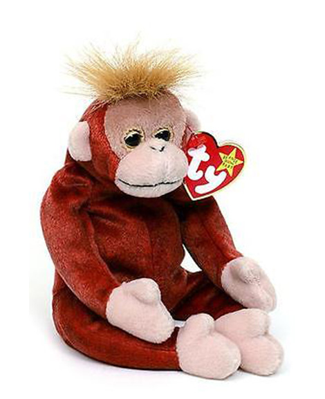 95363e640ba Retired Ty Beanie Baby Schweetheart Orangutan (Retired)