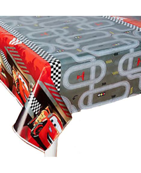 Disney Cars Formula Racer Plastic Table Cover