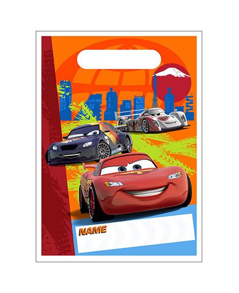 Disney Cars 2 Party Favor Treat Bags