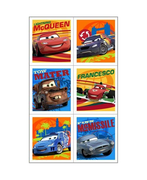 disney cars 2 party favor stickers at party supplies party quackers