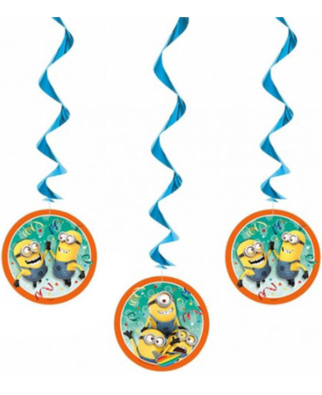 Despicable Me Minions Hanging Decorations