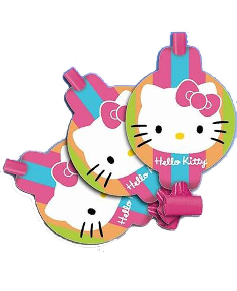 Hello Kitty Flower Party Favor Blowouts