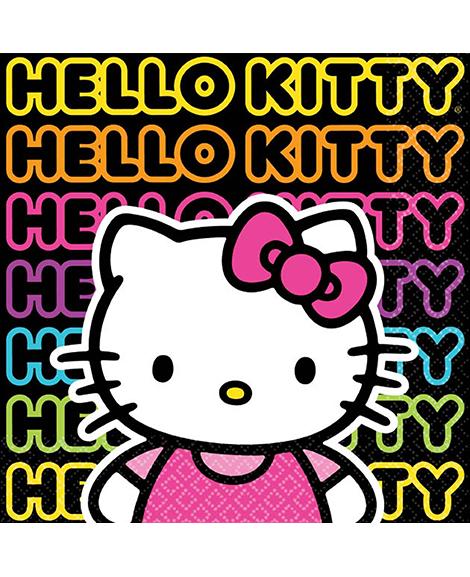 Hello Kitty Tween Beverage Napkins