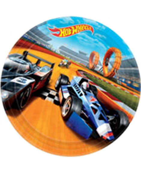 Hot Wheels Wild Racer Lunch Plates