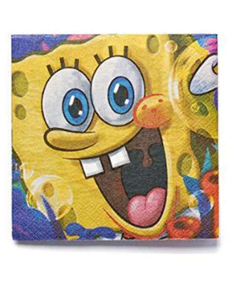 Sponge Bob Epic Lunch Napkins
