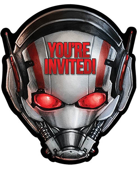 Ant-Man Save The Date Party Invitations