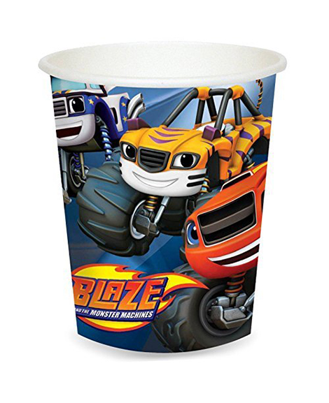 Blaze and The Monster Machines 9 oz Paper Cups