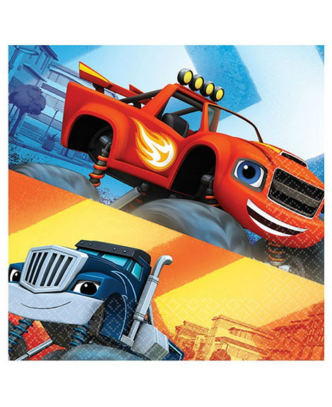 Blaze and The Monster Machines Lunch Napkins