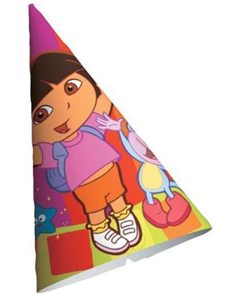 Dora Star Catcher Party Favor Cone Hats