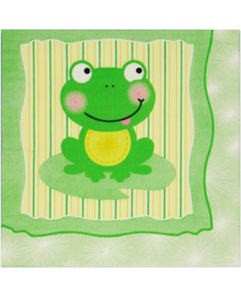Froggy Frog Lunch Napkins