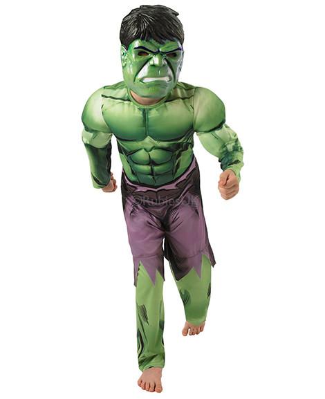 Avengers Assemble Hulk Deluxe Halloween Costume Size Small 4-6