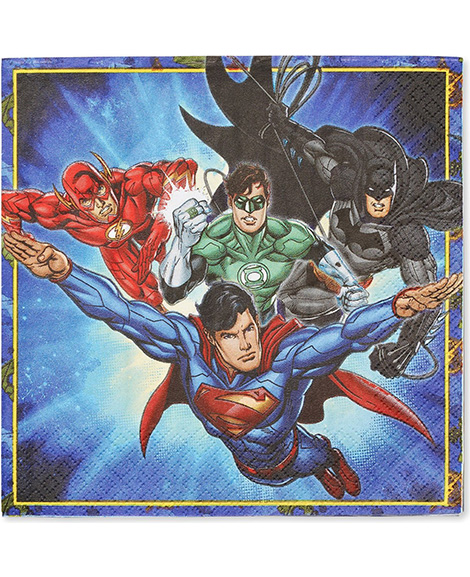 Justice League Lunch Napkins