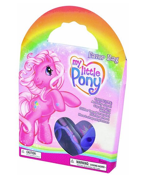 My Little Pony Party Favor Goody Box