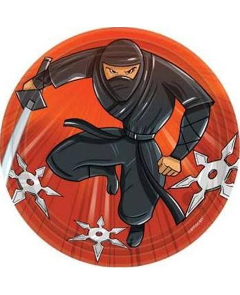 Ninja Zone Dessert Plates