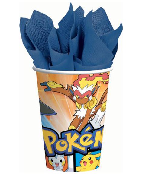 Pokemon Diamond And Pearl 9 oz Paper Cups