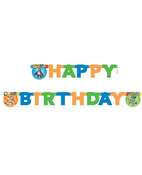 Pokemon Diamond And Pearl Happy Birthday 5 ft Jointed Banner