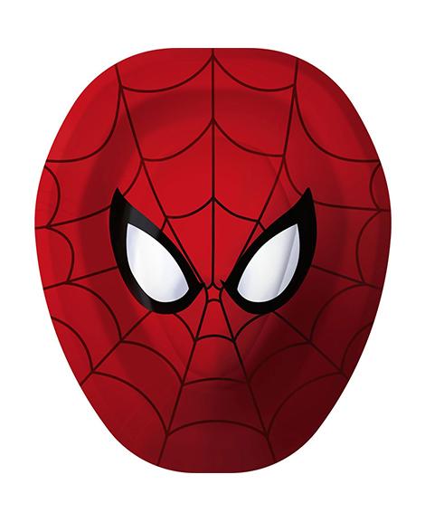 Spiderman Marvel Ultimate Hero Plates 8 Ct