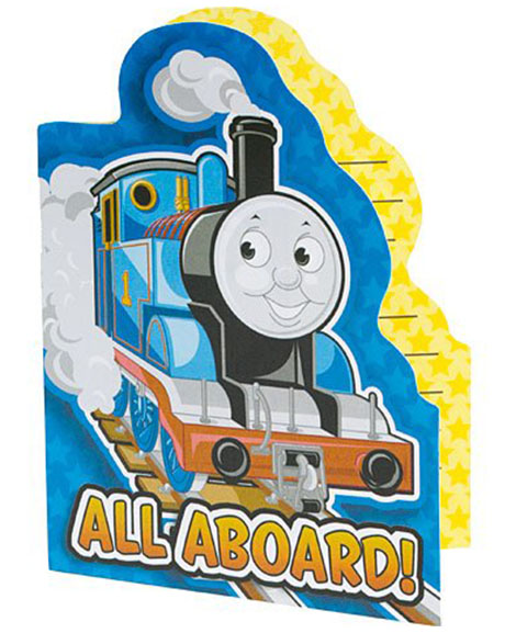 Thomas All Aboard Party Invitations